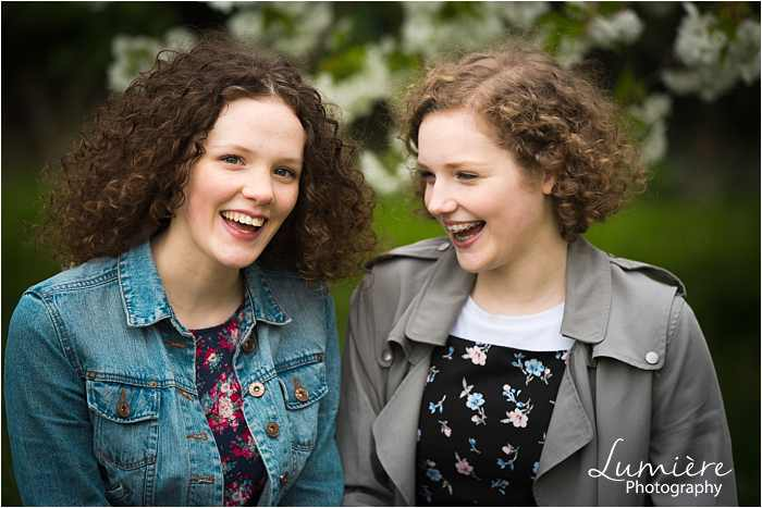 Sisters Photoshoot in Loughborough