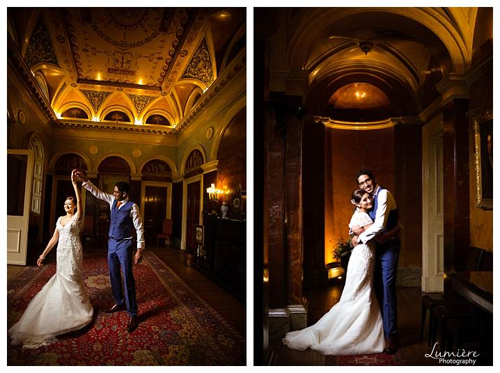 Prestwold hall wedding first dance - lumiere photography