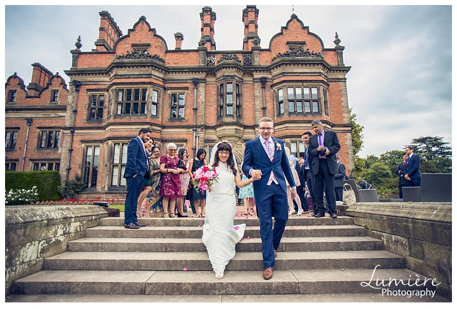 Beaumanor hall wedding Leicester