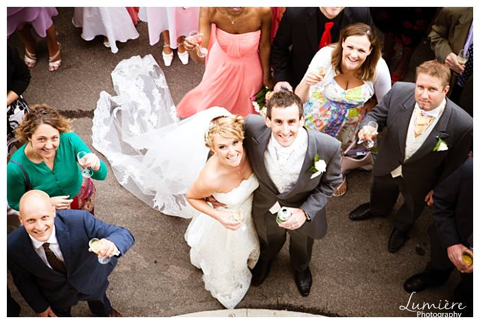 Wedding at haileybury college Herfordshire- the couple