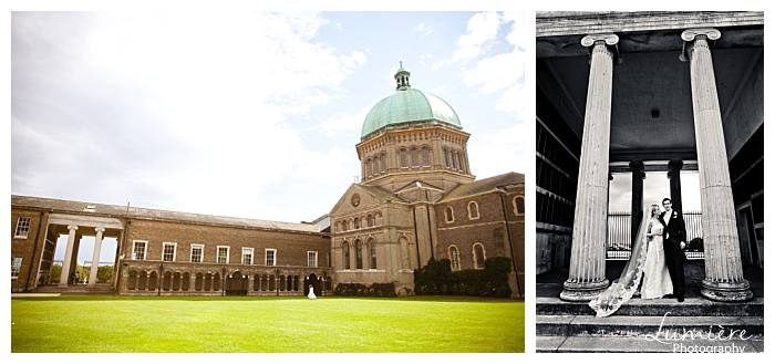 wedding at Haileybury college- Hertfordshire - the grounds