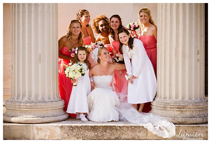 wedding at Haileybury college- Hertfordshire- the bridesmaids