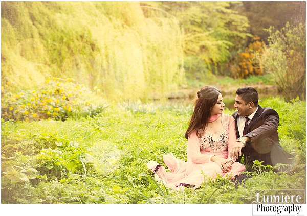 Beloved: Shereen and Jas pre-wedding photoshoot at Whatton Gardens.