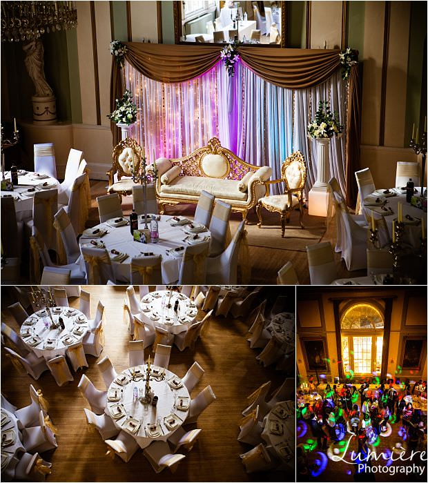 Leicester Wedding Venue: The City Rooms different seating arrangements