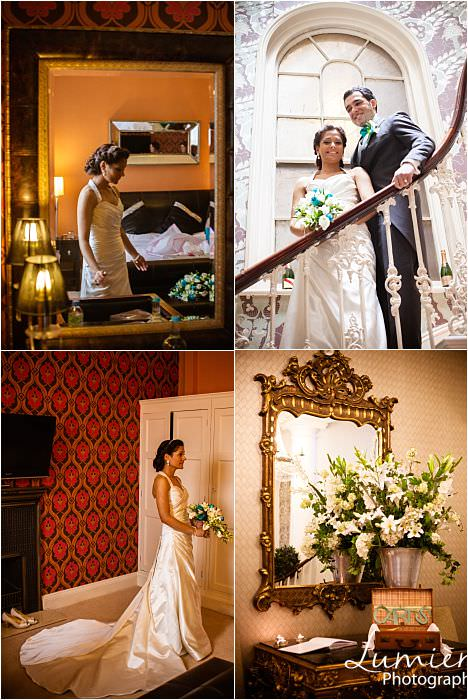 Leicester Wedding Venue: The City Rooms a guest room and stairs