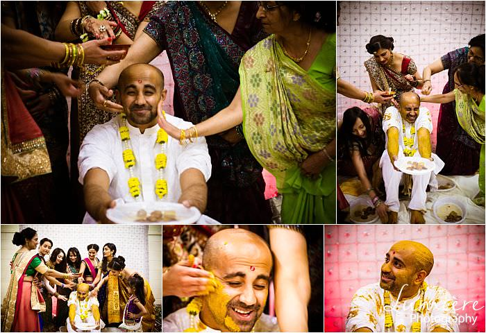Vidhi photography Leicester before Hindu wedding