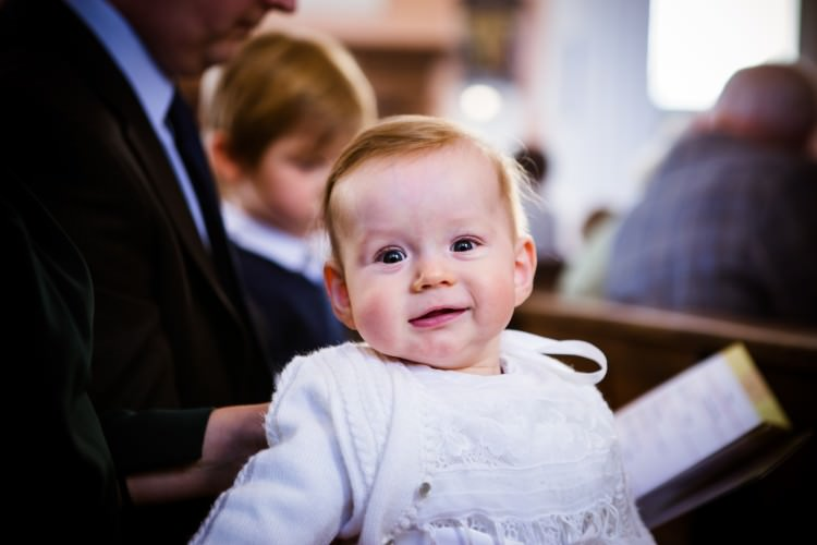 Loughborough Photographer: Christening at St Mary's church