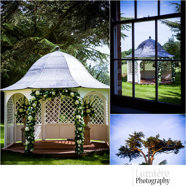 Norwood park wedding gazebo