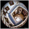 Norwood park wedding staircase