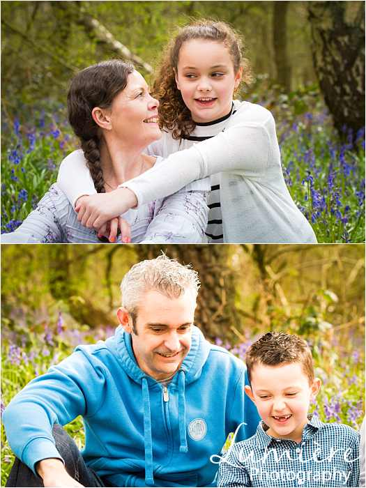 Family photographer in Leicestershire parent and child connection at family photoshoot in Loughborough