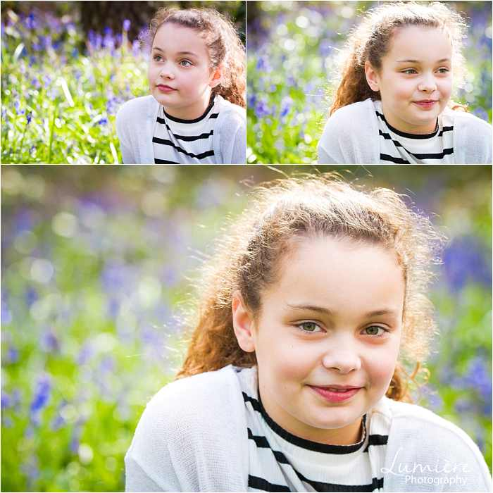 Family photographer in Leicestershire girl portrait at family photoshoot in loughborough