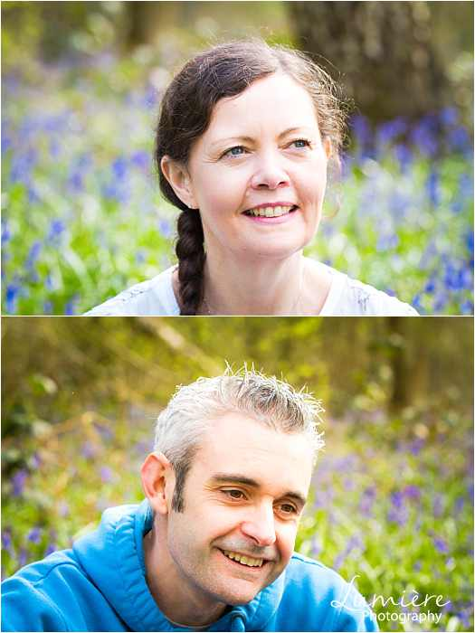 Family photographer in Leicestershire parents portraits at family photoshoot in loughborough