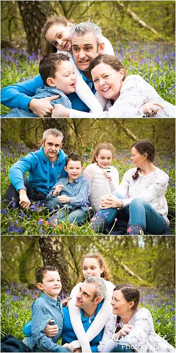 Family photographer in Leicestershire family group images in Loughborough