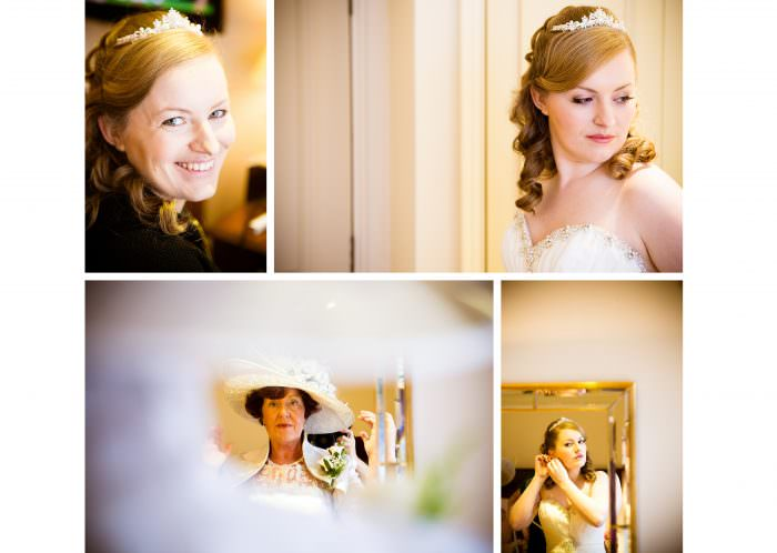 Nailcote hall wedding photographer bridal preparation