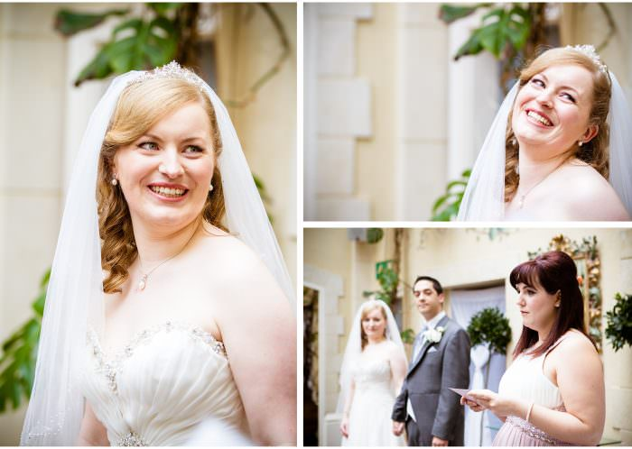 Nailcote hall wedding photographer ceremony