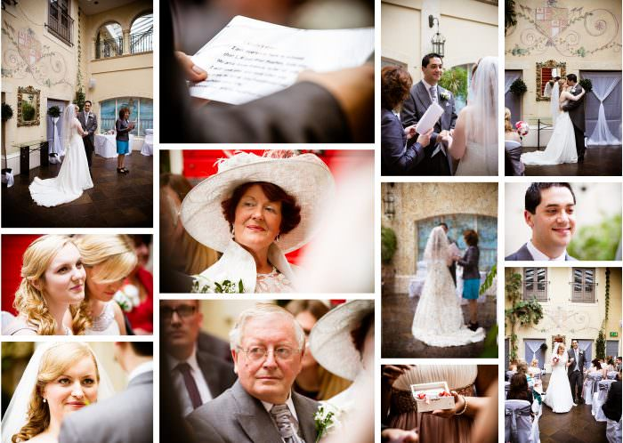 Nailcote hall wedding photographer vows