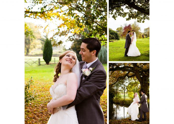 Nailcote hall wedding photographer couple photos