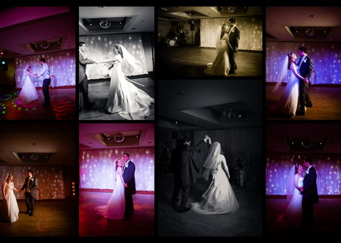 Nailcote hall wedding photographer first dance