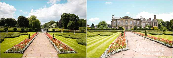 coombe abbey wedding the gardens