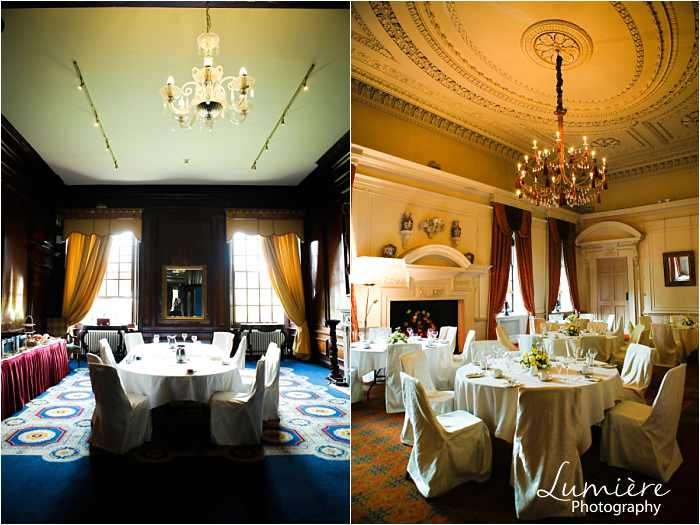 coombe abbey wedding the dining rooms