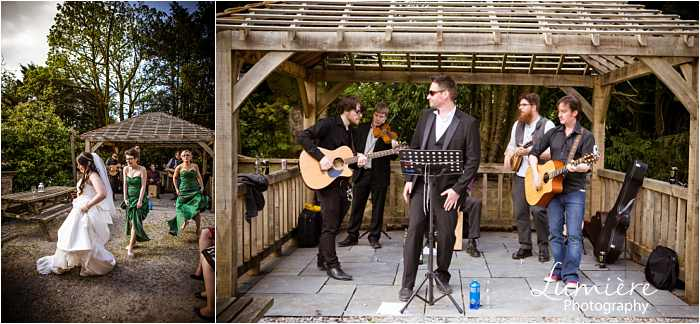 Irish band at Hargate Hall wedding