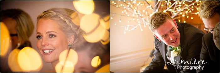 fairy lights at Hargate hall wedding