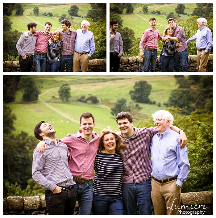 big family photoshoot derbyshire