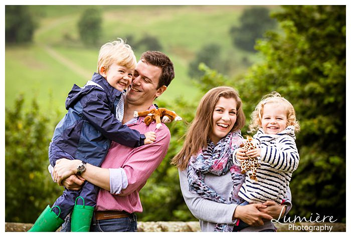 family photoshoot in Derbyshire