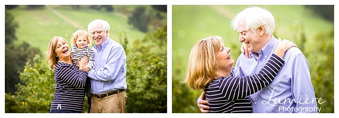 40th anniversary photoshoot in Derbyshire