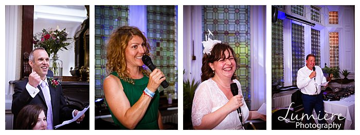 uffculme centre wedding in Birmingham speeches