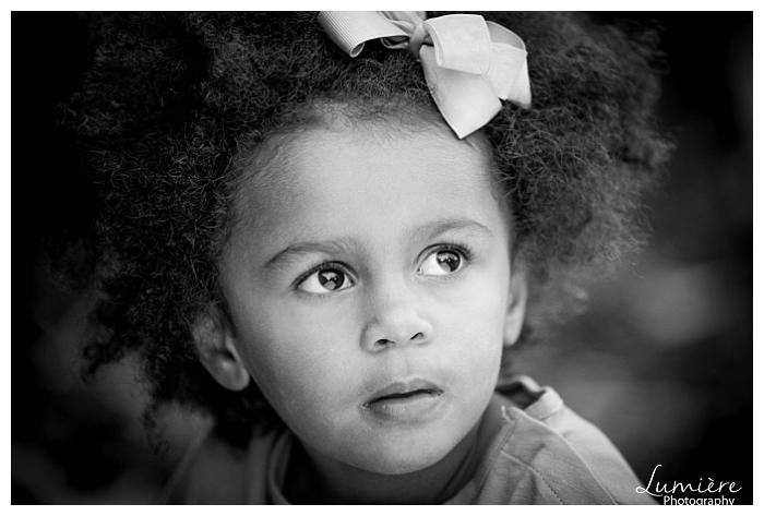 black and white natural children photography