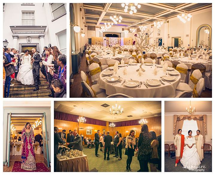 Wedding photographers near me Leicester - Asian wedding photography at devonshire place Leicester