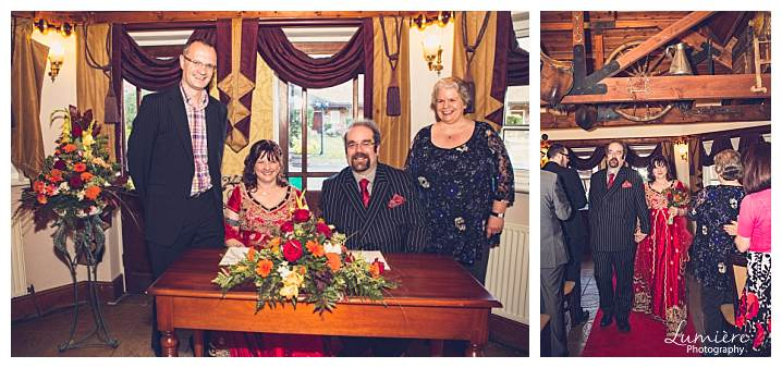 wedding at royal arms pub sutton cheney