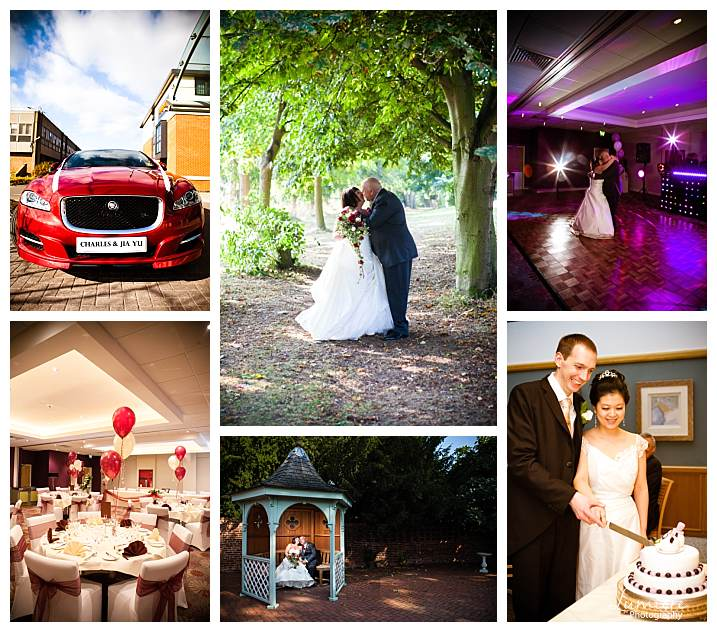 Loughborough Burleigh Court Hotel wedding photographer
