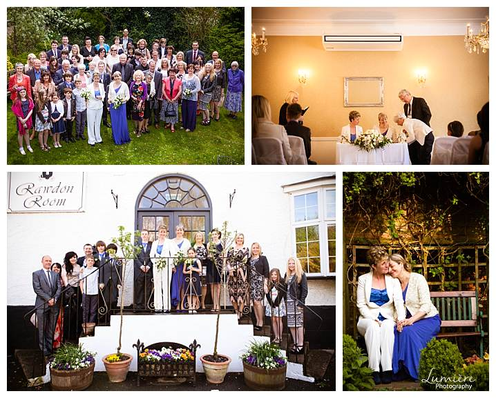 Castle Donnington Manor Hotel Wedding