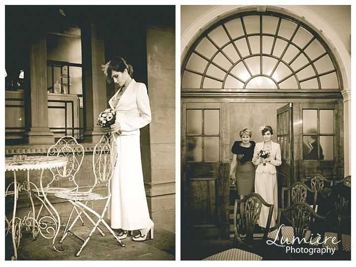 Intimate Vintage Wedding at the Renaissance hotel in London St Pancras