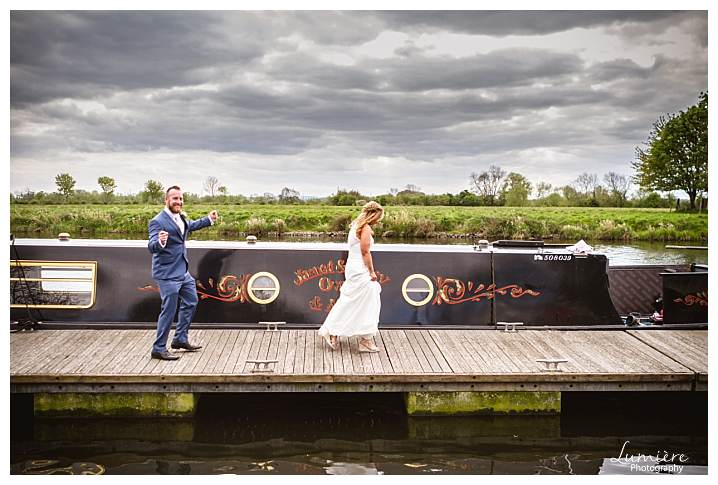 Trent Lock Pub Wedding
