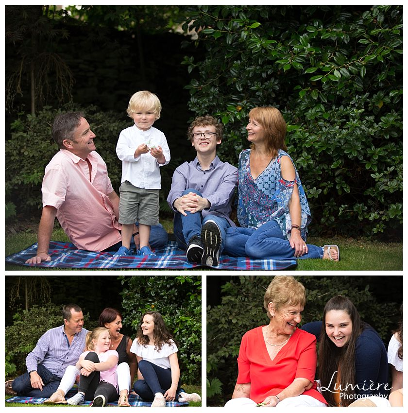 Big family photoshoot leicester