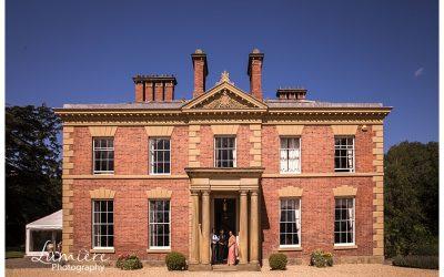 Garthmyl Hall wedding venue in Wales / Shropshire border