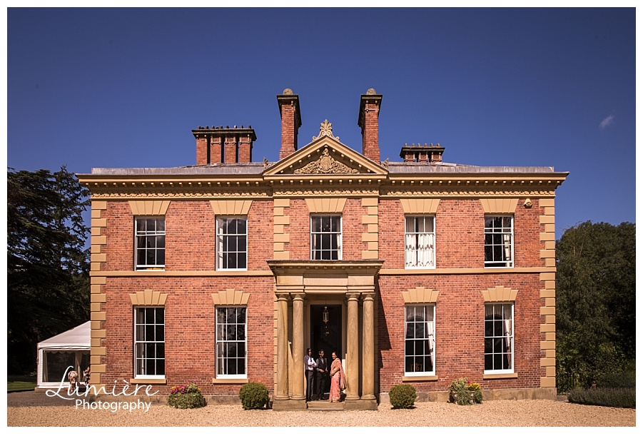 Garthmyl Hall wedding venue in Wales / Shropshire border