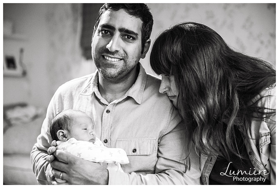 baby photoshoot leicester with parents