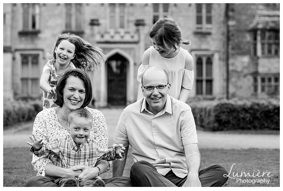Family portrait photographer Derby