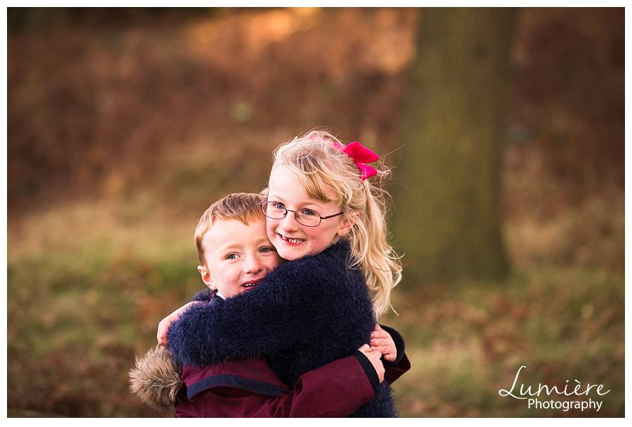 Autumn Family Photos Leicester