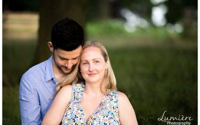 Pre-wedding photos at Bradgate Park