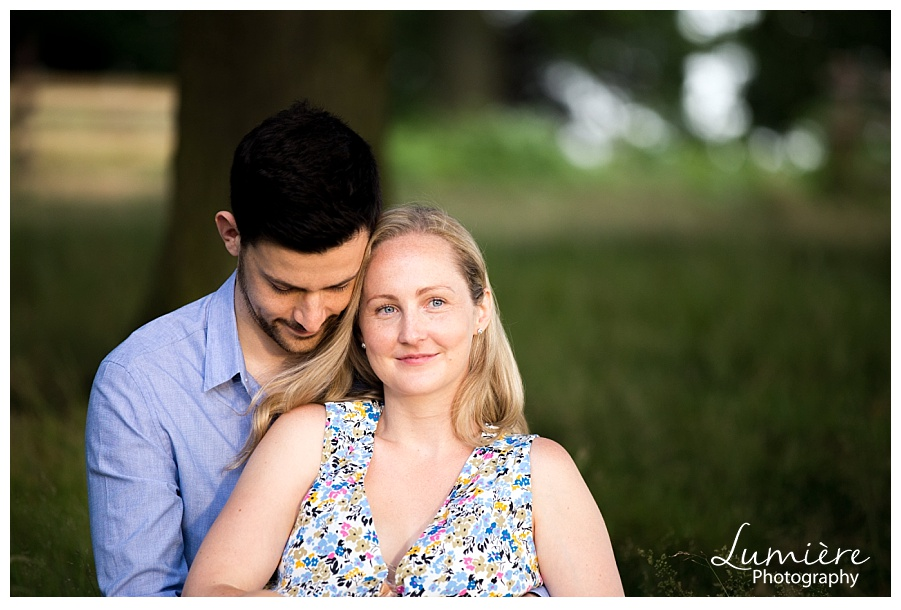 Pre-wedding photos at Bradgate Park