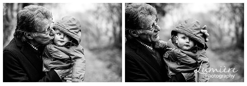 winter family photoshoot leicester
