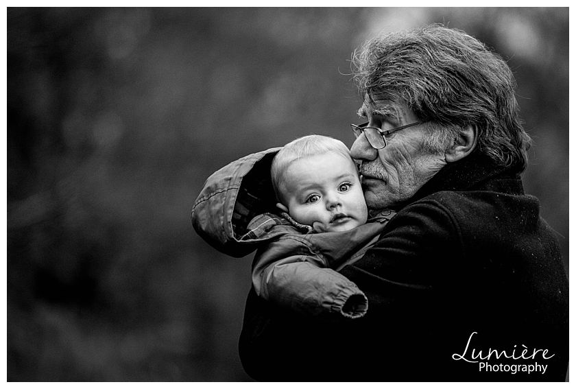 Winter family photoshoot Loughborough