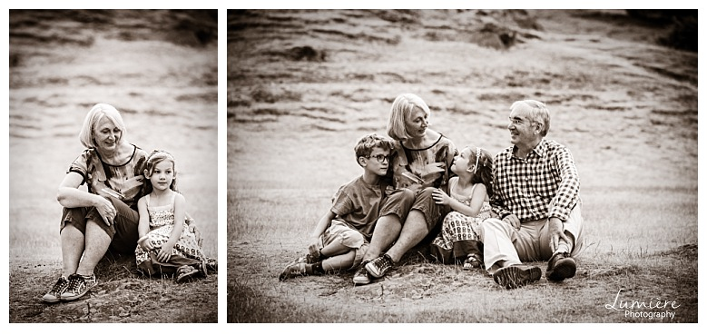 Bradgate Park Leicester family photoshoot grandparents