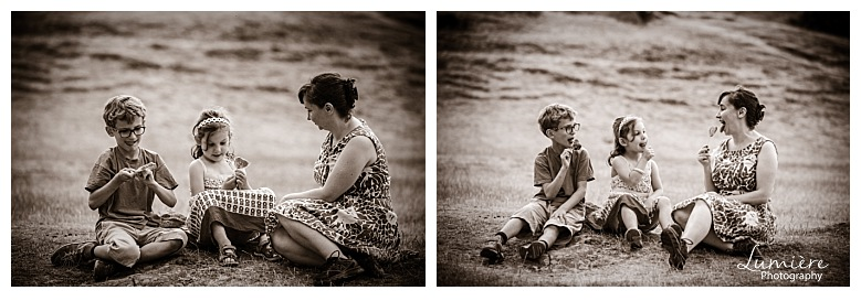 Bradgate Park Leicester family photoshoot a treat