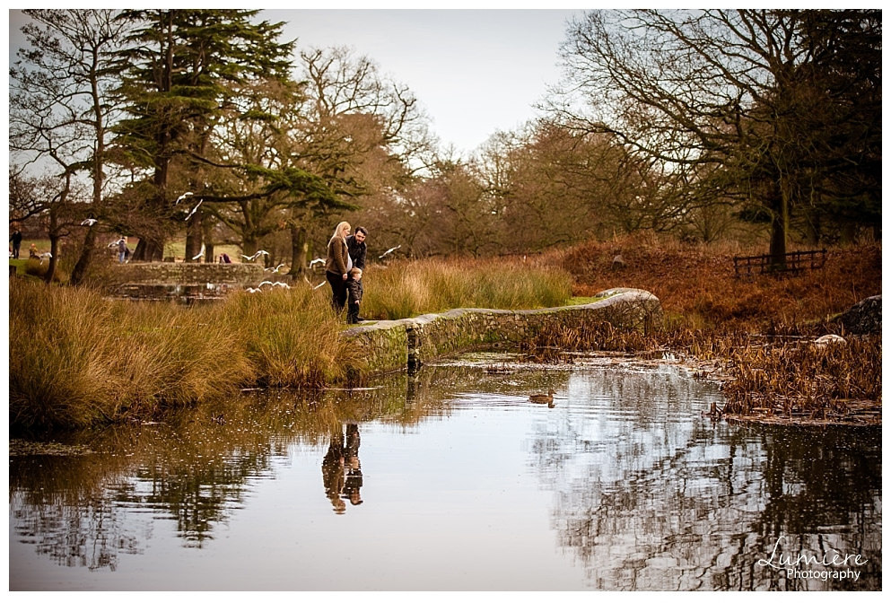 Natural family and maternity photoshoot in Bradgate Park Leicester